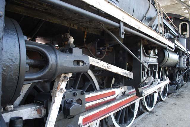 D60型蒸気機関車